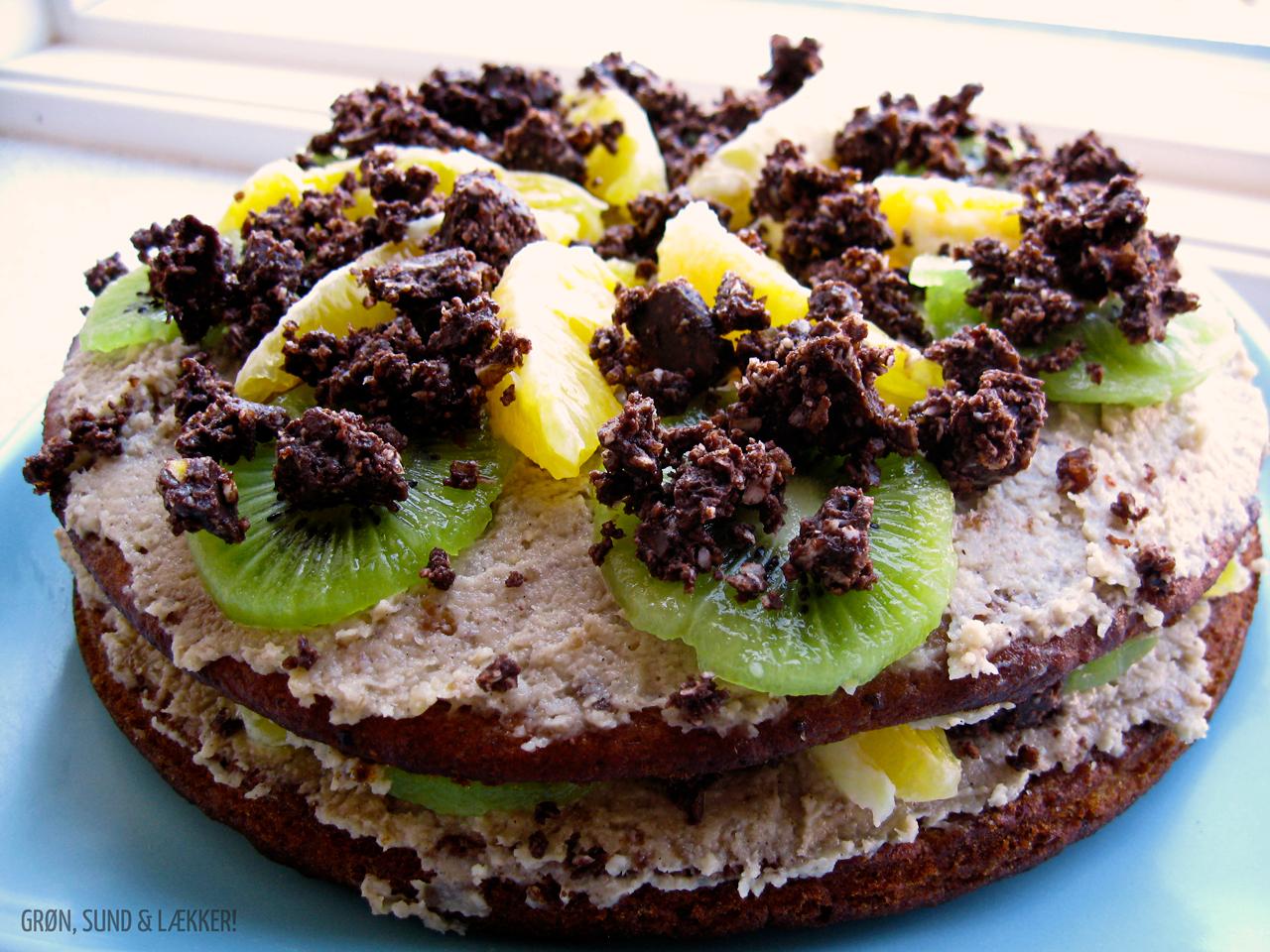 Vegansk Kage Grøn Sund Lækker