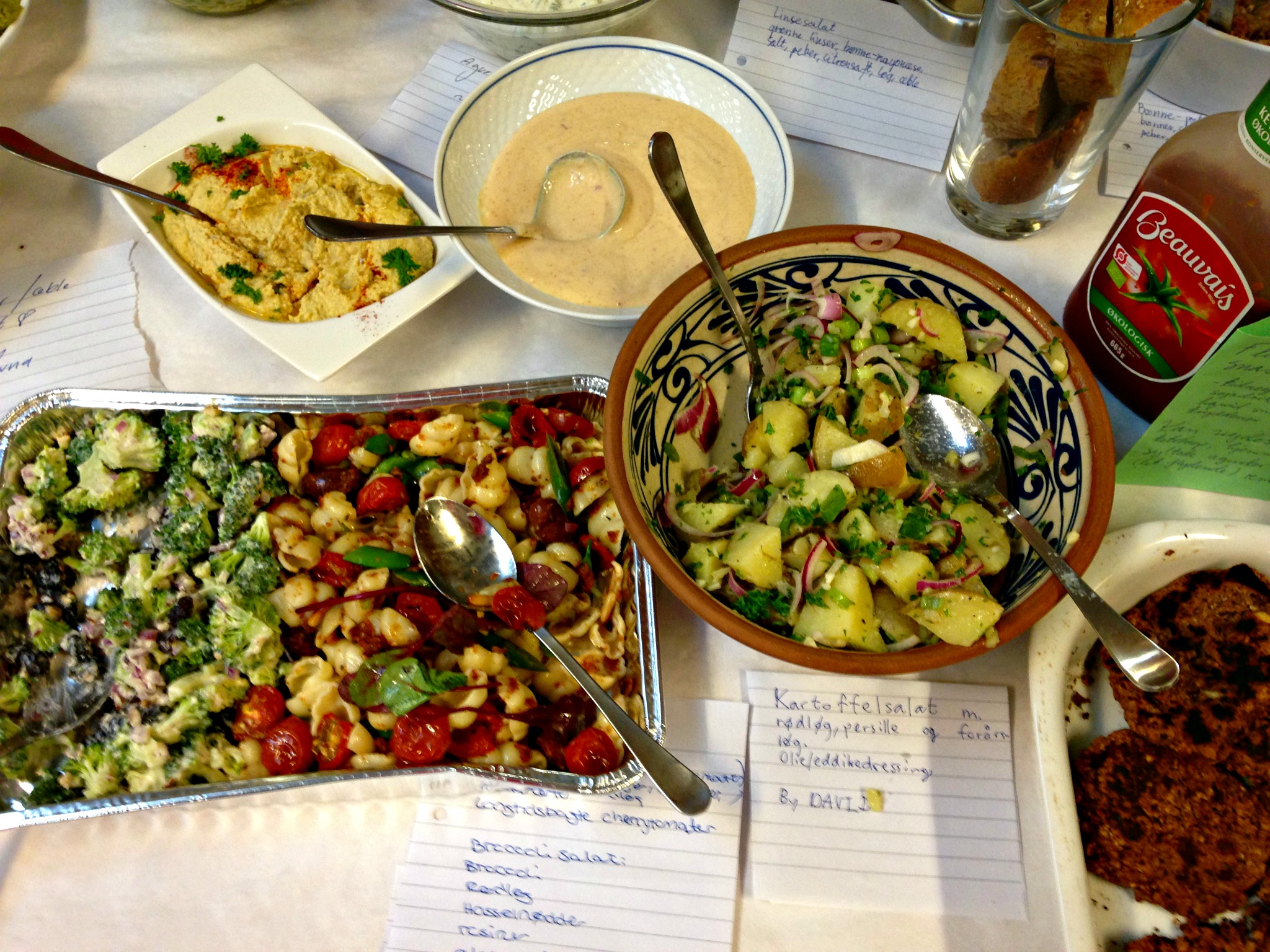 Salater og dips