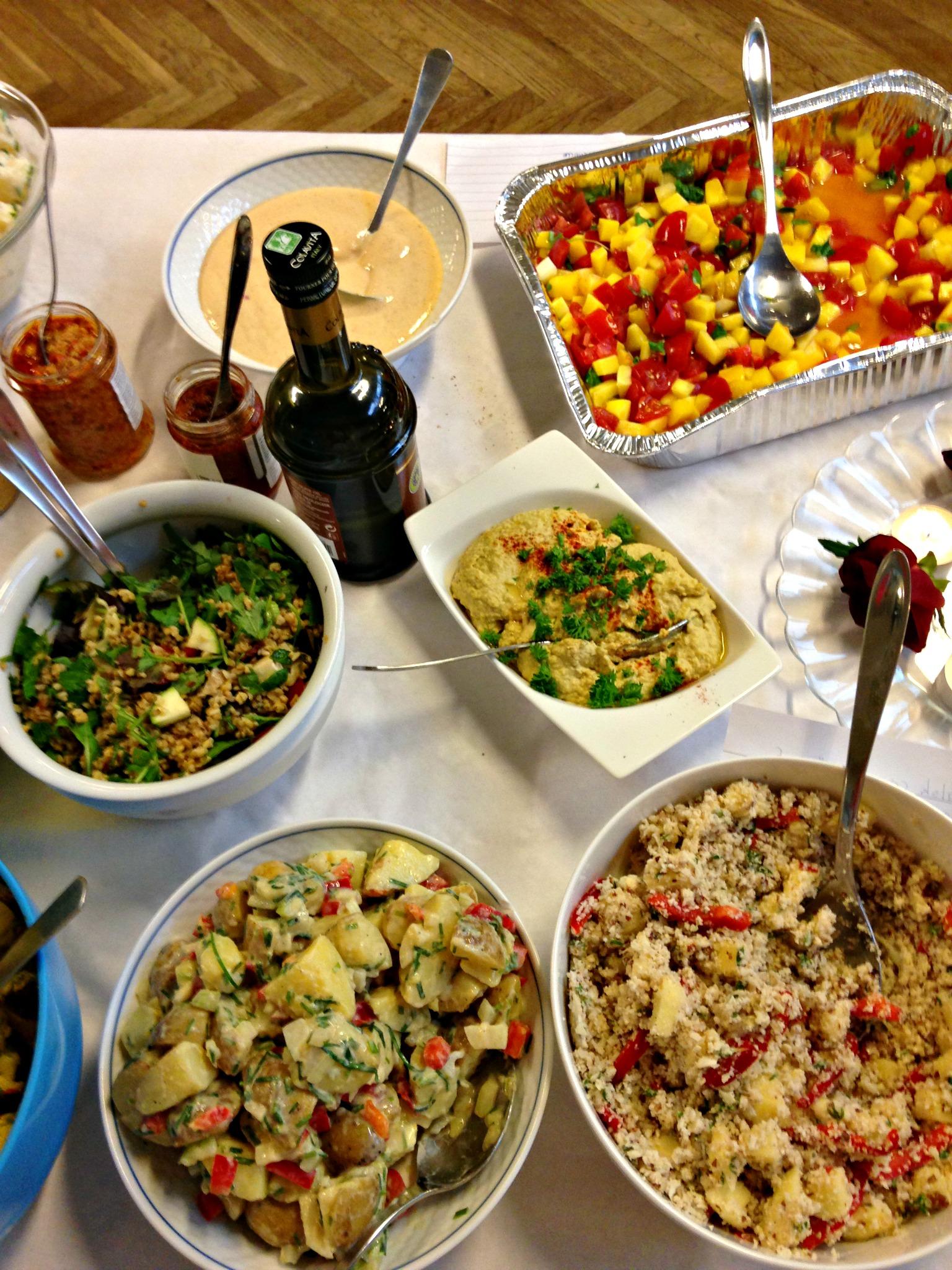 Diverse salater