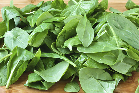 frisk spinat